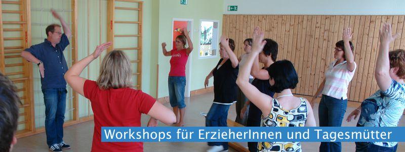 Workshops bei den SPRINGMÄUSCHEN 2014