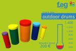 Barometer für unsere outdoor drums